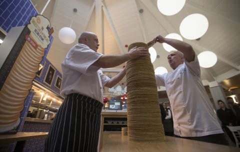 Center Parcs' chefs achieve GUINNESS WORLD RECORDS title