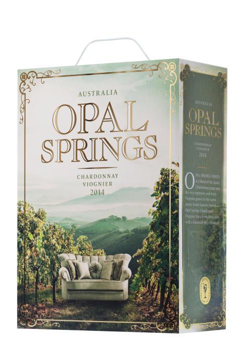 Opal Springs Chardonnay Viognier, Pack Shot