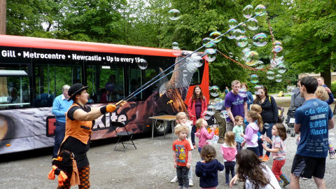 Red Kite Family Fun Day at Gibside – Sunday 22 July