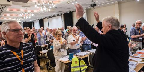 Jan Davidsen gjengvalgt som leder av Pensjonistforbundet