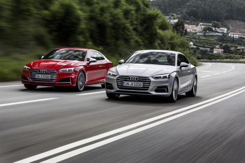 Säljstart för Nya Audi A5 och S5 Coupe