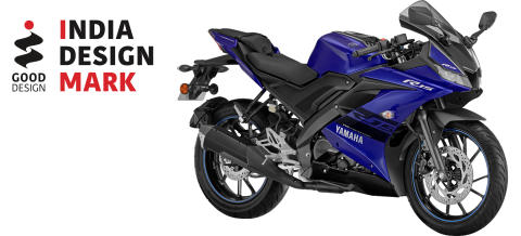 Yamaha Motor Awarded India Design Mark for 8th Year Running - Second Award for Indian-Market YZF-R15 Motorcycle -