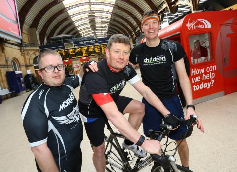 """Knights' quest"" for Virgin Trains cycle fans"