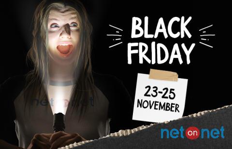 Black Friday pågår under 23-25 november hos NetOnNet
