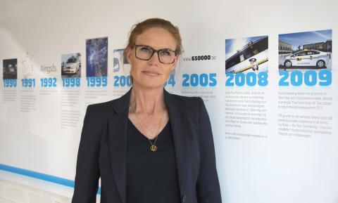 Försäljnings- och marknadschef Taxi Göteborg, Petra Kling