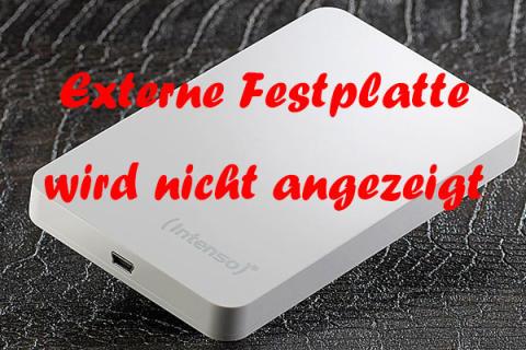 10 Fälle & Lösungen | Externe Festplatte wird nicht angezeigt - MiniTool
