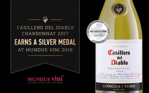 Silver till Casillero del Diablo i MUNDUS vini