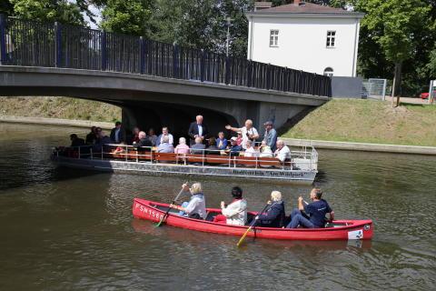 Club der Tourismusjournalisten Berlin im Stadthafen Leipzig