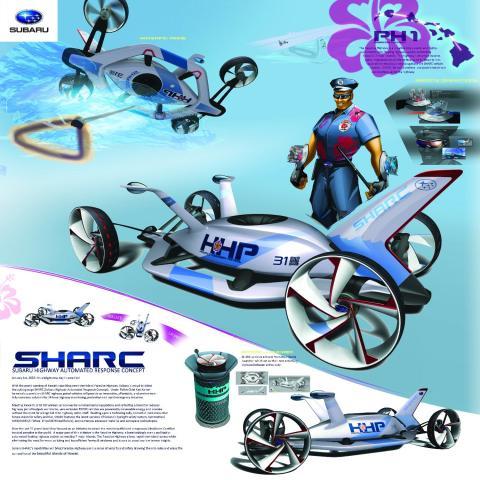 Designpris till Subaru