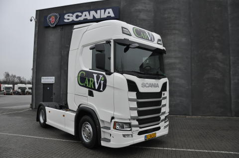 Ny Scania til Carvi Transport