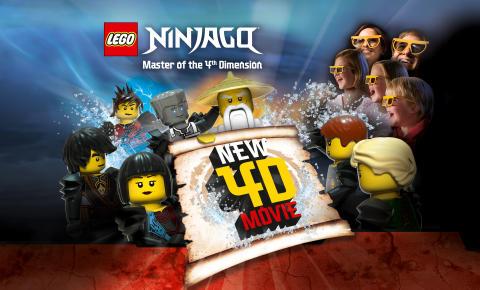 LEGO® NINJAGO® - Master of the 4th Dimension