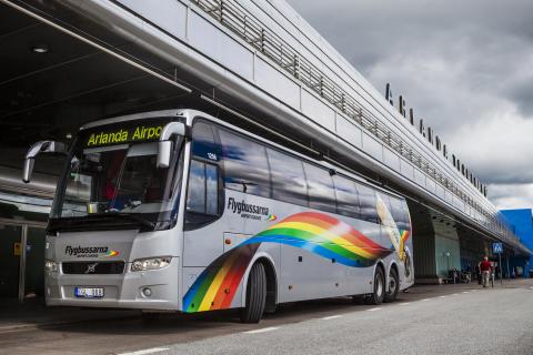 Flygbussarna startar ny linje till Arlanda