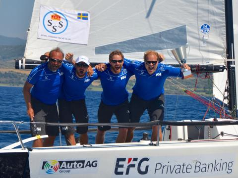 Extend Sailing Team vinner EM i klubbracing
