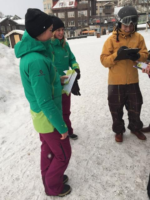 Halebop på plats under studentveckorna i Åre