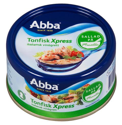 Abba Tonfisk Xpress Italiensk vinägrett