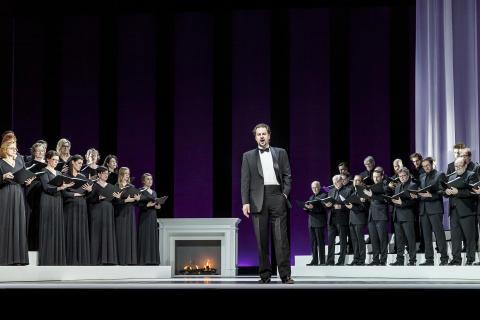 Eugen Onegin/ Peter Mattei, NorrlandsOperans kör