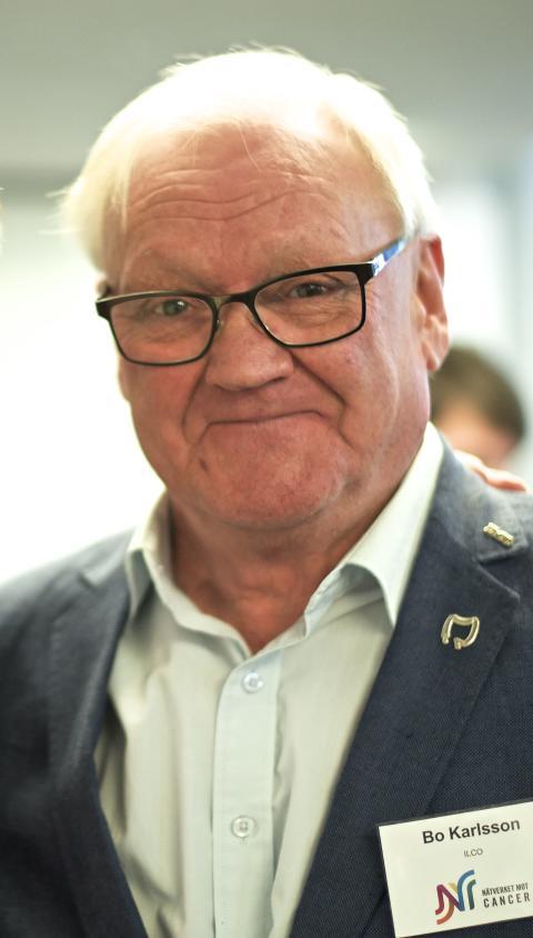 Bo Karlsson Ordförande ILCO Tarm- uro- och stomiförbundet