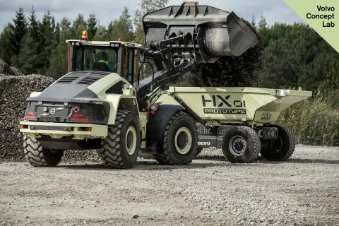Eine Welt aufbauen, in der wir leben möchten: Volvo Construction Equipment stellt futuristische Innovationen vor, welche die Nachhaltigkeit und den Wandel vorantreiben