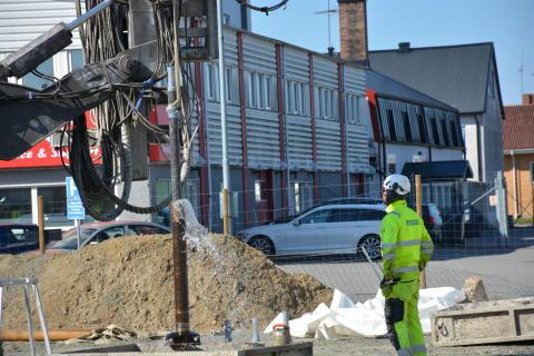 Värme renar miljögifter på Kristianstadstomt