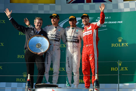 Lewis Hamilton vann Australiens Grand Prix