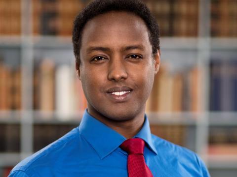 Ahmed Abdirahman blir sommarvärd i Sveriges Radio