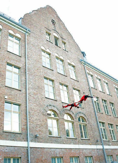 Luftig dans åpnet Fagerborg skole