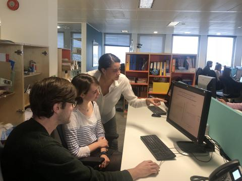 The Silver Santé team analyse the results of the SCD clinical trial