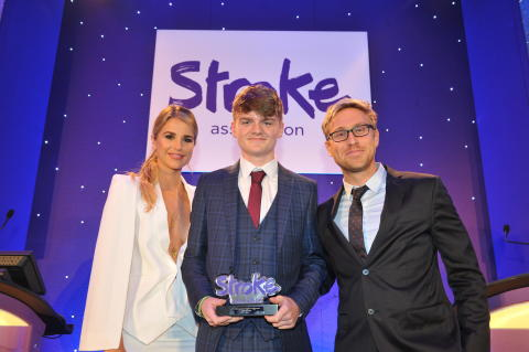 ​14 year-old stroke survivor wins national courage award