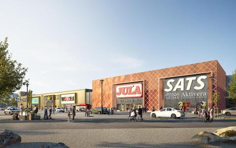 Alma Property Partners etablerar nytt handelskvarter i Sollentuna