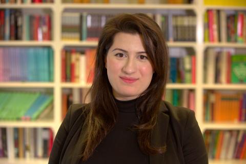 28-åriga förstaläraren Mariam får Kompassrosen för kreativ pedagogik och inkluderande ledarskap