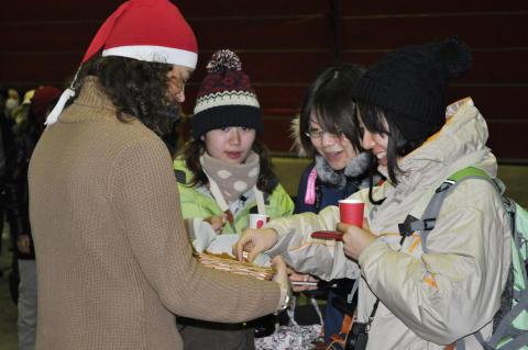 Vinterns första direktflyg från Tokyo till Kiruna