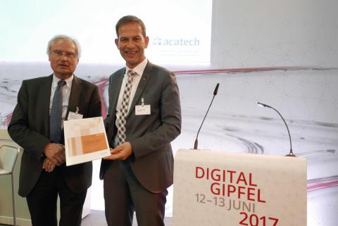Digital-Gipfel 2017: acatech präsentiert Systematik und Praxisbeispiele zu IT-Plattformen