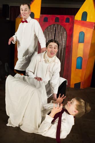 Boulevardteatern spelar Lilla spöket Laban i Lindesberg