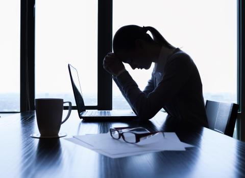 Arbetsgivarna får underkänt i stresshantering