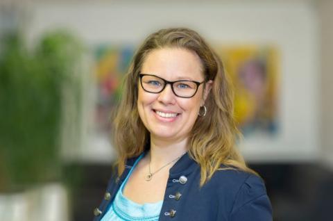 Gabriella Castegren, energiexpert hos Sveriges Allmännytta