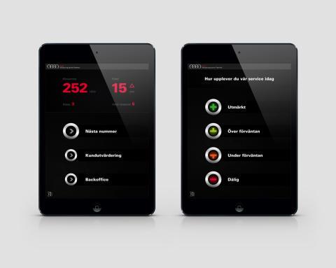 Q-channel lanserar kundenkät integrerat med köhantering på iPad