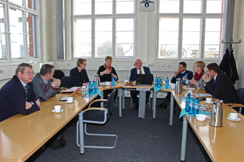 Wissenschaftsstaatssekretärin Dr. Ulrike Gutheil zu Antrittsbesuch an der TH Wildau