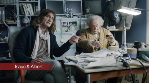 Einstein spelar huvudrollen i nya filmer från Högskolan i Gävle