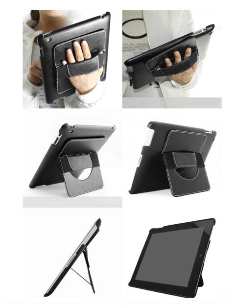 Supersmidigt, roterbart skal speciellt för presentationsbruk till iPad 2 och 3 från MicroMobile