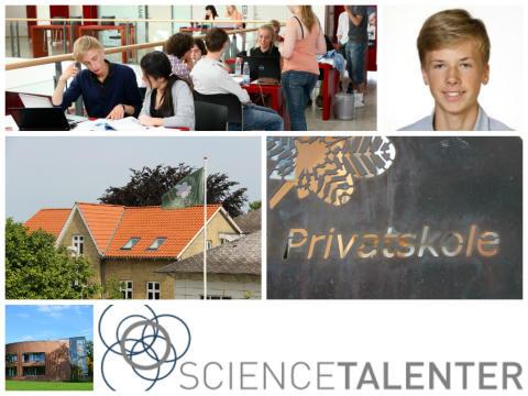 Elev fra Sorø Privatskole deltager i Nordisk talentcamp hos ScienceTalenter