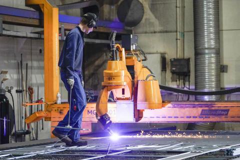 Ferrum Steel Oy laajensi Kapernaumin puuronsilmässä