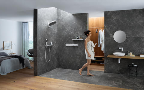 hansgrohe Rainfinity miljöö people 2