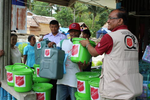 Hygiene, Education and Health Form Basis of The Salvation Army's Ongoing Earthquake Response in Indonesia
