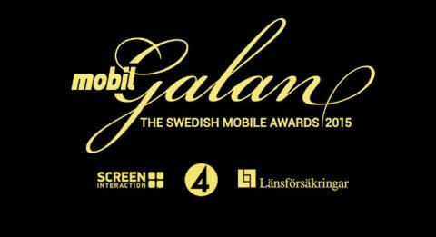 TV4 och Länsförsäkringar finalister på Mobilgalan 2015