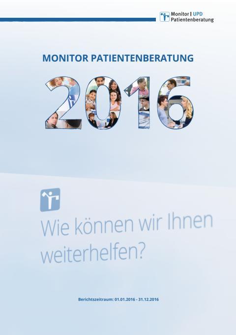 Monitor Patientenberatung 2016