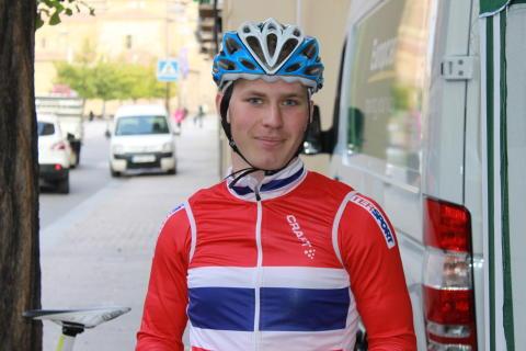 Torjus Sleen under sykkel-VM 2014