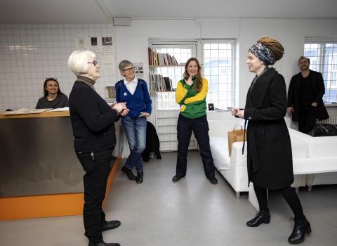 Amanda Lind besöker konstepidemin 22.02.19 03
