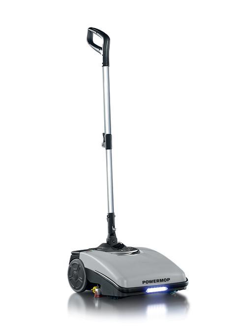 KBM Powermop - en liten städmaskin som ger stort resultat