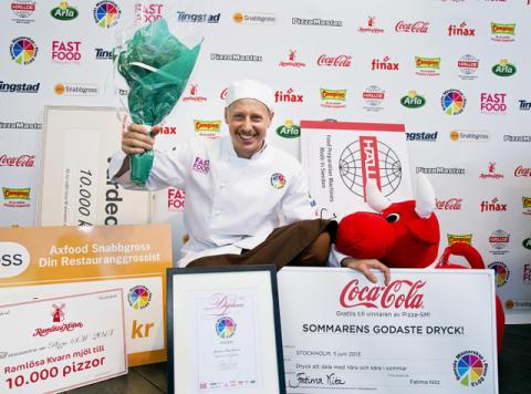 Pizza-SM final, Jonas Karlsson blev Sveriges Pizzamästare 2013!