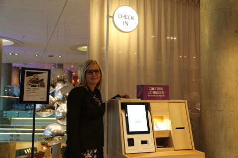 Hotelldirektør Therese Fredriksson
